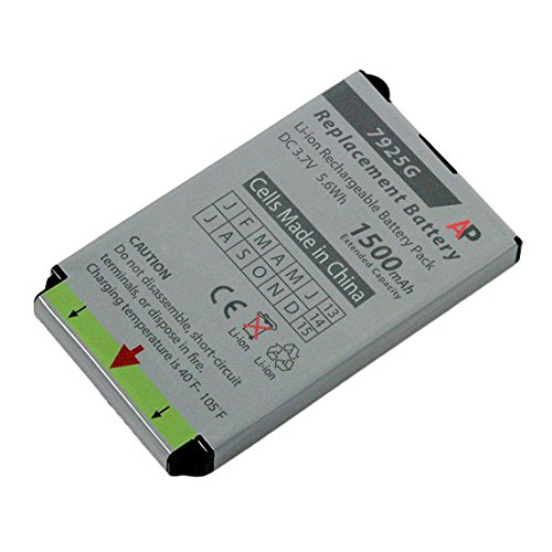 Artisan Power Replacement Battery for Cisco 7925G and 7926G Phones. Extended Capacity, 1500 mAh