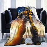 JONINOT Manta de abejorro Colcha de Microfibra Manta Colcha de Cama 80 'x 60'