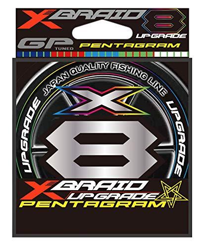 エックスブレイド(X-Braid) アップグレードX8 ペンタグラム 200m 0.4号 (10lb)