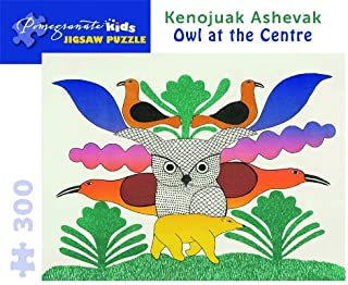 Owl at the Center: 300 Piece Puzzle (Pomegranate Kids Jigsaw Puzzle)