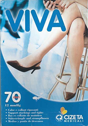 Varian Viva 70 panty netgesloten punt Tg 1 licht 12 mm hg MADE IN ITALY TEST SVIZERO