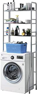 Zzmop Étagère de Rangement pour Toilettes,Support pour Machine a Laver en Acier Inoxydable,Étagère pour Organisateur de Sa...