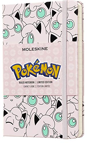 "Moleskine Limited Edition Pokémon Notebook, Hard Cover, Pocket (3.5"" x 5.5"") Ruled/Lined, 192 Pages"