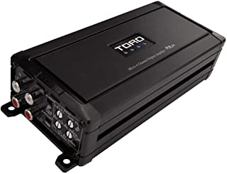 $99 » TORO TECH - MRx4, 80 Watts x 4 RMS @ 4 Ohm / 130w x 4 RMS @ 2 Ohm Micro Sized Multi-Channel Car Amplifier, Sound Quality C...