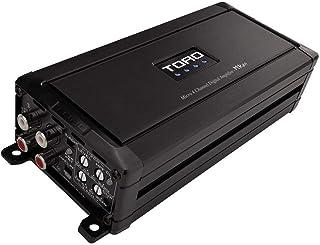 TORO TECH - MRx4, 80 Watts x 4 RMS @ 4 Ohm / 130w x 4 RMS @ 2 Ohm Micro Sized Multi-Channel Car Amplifier, Sound Quality C... photo