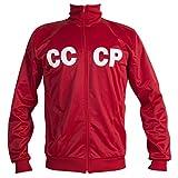 JL Sport De Unión Soviética URSS CCCP 1970 Chaqueta De Fútbol Retro Clásico Chándal Hombre - Réplica - XL