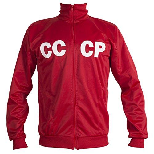 JL Sport Sowjetunion CCCP UDSSR 1970 Retro Fußballjacke der klassischen Weinlese Anzug n Replik - XL