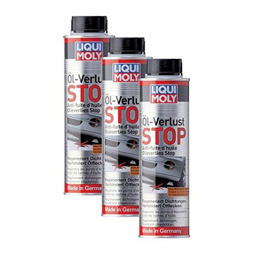 Liqui Moly Öl-Verlust-Stop für alle Benzin- und Dieselmotoren mit und ohne Dieselpartikelfilter 3X 300ml