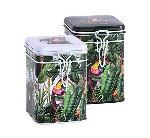 Eigenart Lot de 2 boîtes de conservation Rainforest (env. 150 g)