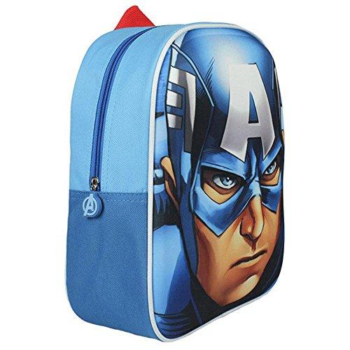 Avengers - Zainetto Capitan America 3D