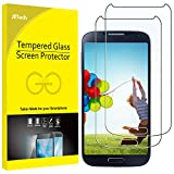 JETech Screen Protector for Samsung Galaxy S4, Tempered Glass Film, 2-Pack