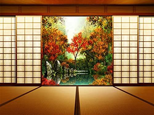 Rompecabezas De 1000 Piezas para Adultos, Baño En Estilo Japonés, Juguete Educativo para Niños Y Adultos, Montaje De Madera