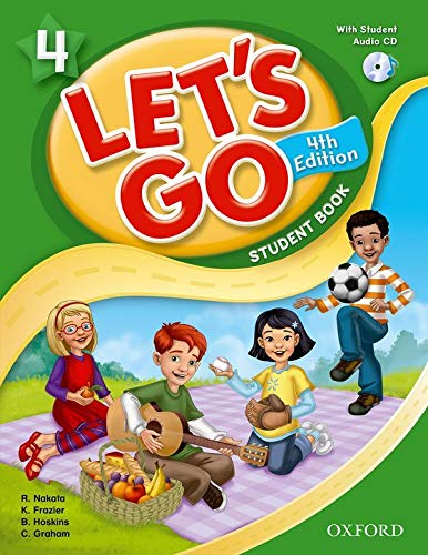 Let's Go 4 Student Book with Audio CD: Language Level: Beginning to High Intermediate. Interest...