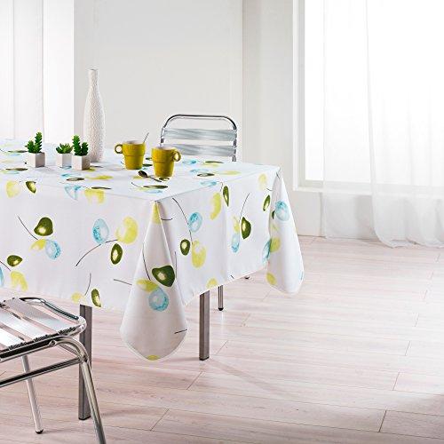 l'harmonie du décor nappe rectangle 150x240cm mixi vert