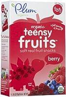 Plum Organics Tots Teensy Fruits - Berry - 1.75 oz by Plum Organics [並行輸入品]