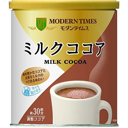 日本ヒルスコーヒー ヒルス モダンタイムス ミルクココア 1缶 430g
