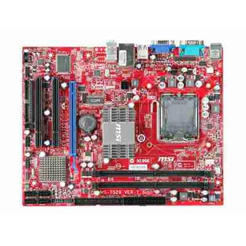 MSI G31TM-P21 LGA 775 Intel G31 Micro ATX Intel Motherboard