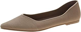 Women Ballet Flats Classy Simple Casual Slip-on Comfort Walking Shoes