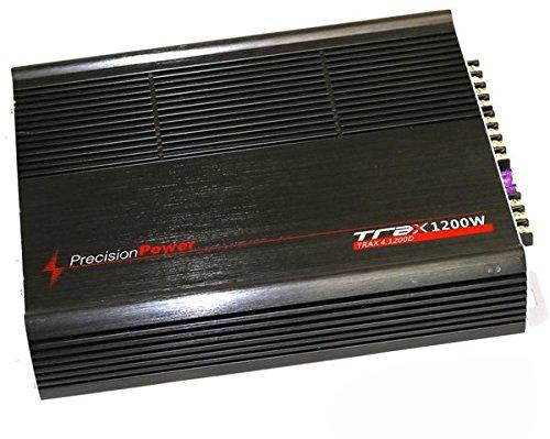 precision TRAX41200D Power 4 Channel 1200W Car Amplifier