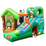 Action air Bounce House, Giraffe Theme Bounce House with Blower, Inflatable Bounce House for Kids, Bouncy Castle for Backyard Fun, Great for Kiddos (9139)