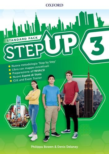 Step up. Student's book-Workbook. Con Exam trainer, Mind map, Ket. Per la Scuola media. Con ebook. Con espansione online. : Step up. ... espansione online. - [Lingua inglese]: 3