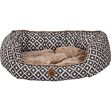 Precision Pet SnooZZy IKAT Daydreamer Gray