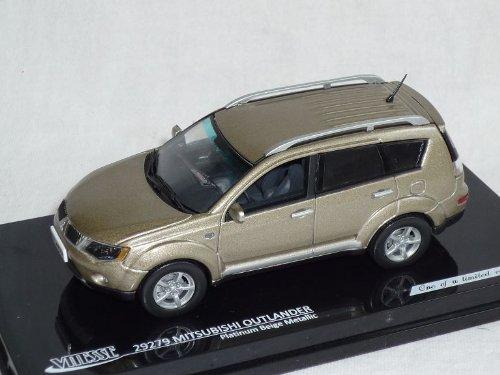 Vitesse Mitsubishi Outlander Beige Gold 2006-2010 Cw0w 2. Generation 1/43 Modell Auto Modellauto