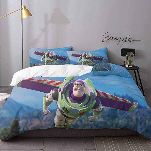 ropa de cama toy story de la marca HeKua