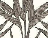 A.S. Création papel pintado Natural Space marrón negro blanco 10,05 m x 0,53 m 796295