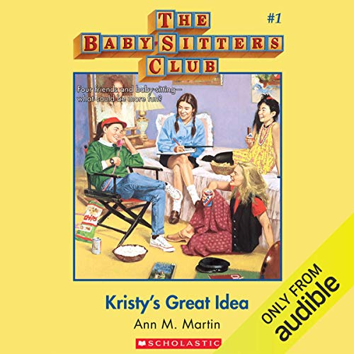 Kristy's Great Idea audiobook cover art