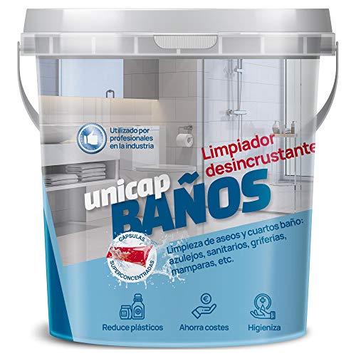 Sikd - Set desincrustante baños superconcentrado. Limpiador multiusos 10 cápsulas recargables, pulverizador spray reutilizable, bayeta microfibra. Ahorra, reduce plásticos