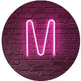 Rosa Neon Brief Leuchtreklamen Zeichen Nachtlicht LED Festzelt Buchstaben Neon Kunst Dekorative...