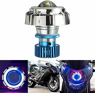 Generic 12V LED Projector Kit Hi/Low Beam Headlight Angel Devil Eye Motorcycle