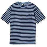 [カンタベリー] Tシャツ STRIPE RUGGER TEE メンズ チャコールク 日本 L (日本サイズL相当)