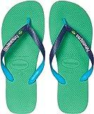 Havaianas Brazil Mix Flip Flops Leaf Green 41/42 (US Men's 9)