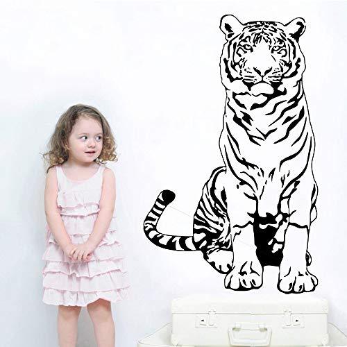 Yaonuli wandsticker tijgerdesign woonkamer decoratie huis schilderij waterdicht serie dieren wandsticker