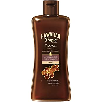 Hawaiian Tropic Tropical Tanning Oil LSF 0, 200ml, 1er Pack (1 x 200 ml)