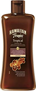 Hawaiian Tropic Tanning Oil Coconut SPF0-200ml