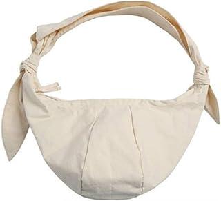 COAFIT Shoulder Bag Vintage Knot Canvas Casual Bag Crossbody Bag