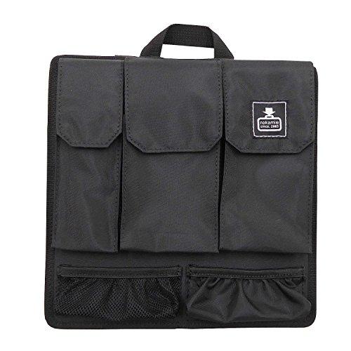 [カバンノナカミ] カバンの中身スクエア バッグインバッグ 【カバンの中身】多機能インナーバッグ ブラック