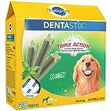 PEDIGREE DENTASTIX Fresh Breath Large Dog Dental Treats Fresh Flavor Dental...