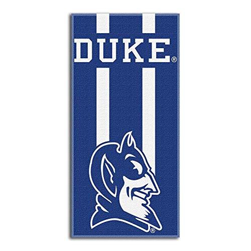 Asciugamano da spiaggia con licenza ufficiale Northwest NCAA Duke Blue Devils, 76,2 x 152,4 cm