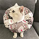 MYYXGS <span class='highlight'>Pet</span> Protection Collar Elizabeth Collar <span class='highlight'>Pet</span> Protection Hood Cat Waterproof Bite-Proof Collar Anti-Licking And Scratch-Resistant Collar