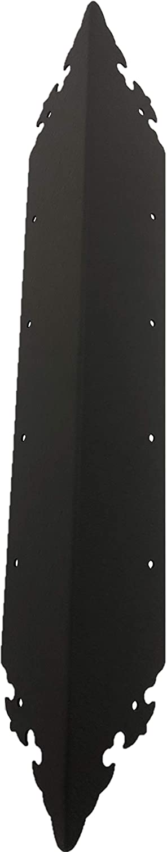 RMP Decorative Raised Bed Corner 22 Brackets favorite Black - Inch Max 74% OFF