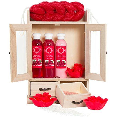 Brubaker, Set sapone bagno e doccia con armadietto in...