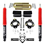 WULF 3' Front 3' Rear Lift Kit with Extended Rear Shocks compatible with 2005-2020 Toyota Tacoma 6LUG 2WD 4X4