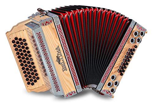 Beltuna Alpstar IV D Harmonika Esche massiv G-C-F-B