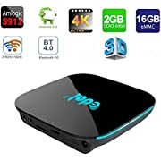 Greatlizard Android TV Box 2GB 16GB S912 Octa-core Bluetooth 4.0 Dual WiFi 2.4GHz 5.0GHz Android 6.0 HD LAN 3D 4K Smart Set Top Box