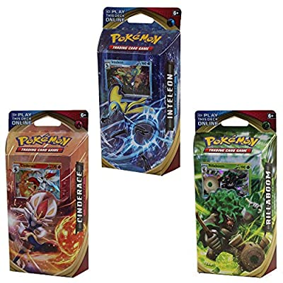 Pokemon Sword and Shield All 3 Theme Decks: 60 Cards Each, 180 Total Cards! from Pokemon