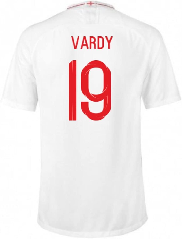 2018-2019 England Home Nike Football Shirt (Vardy 11) - Kids